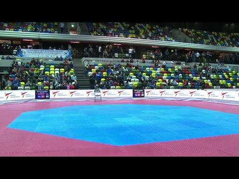 London 2017 World Taekwondo Grand Prix Day 3 - Session 2 - Mat 1
