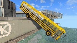 Building Cars Falls Crazy Crashes #2- BeamNG Drive