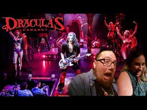 Dracula's Cabaret ~ Terror Byte ~ VIP Ghost Train ~ Gold Coast 2017  Vlog#20