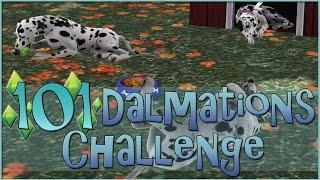 Sims 3 || 101 Dalmatians Challenge: Puppy Pee Puddles Everywhere - Episode #24