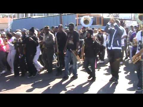Rolling down Broad St - Treme Sidewalk Steppers 2011 Second