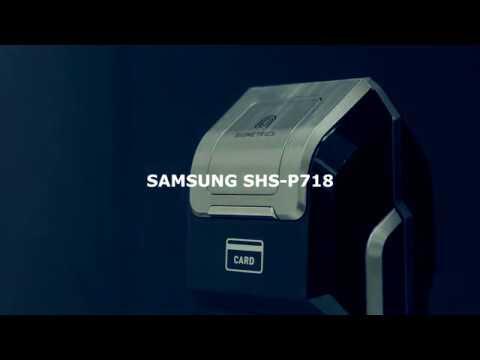 Обзор дополнительных функций электронного замка Samsung SHS-P718