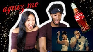 BLASIAN COUPLE REACTS TO AGNEZ MO - COKE BOTTLE FT. TIMBALAND, T.I. | REACTION