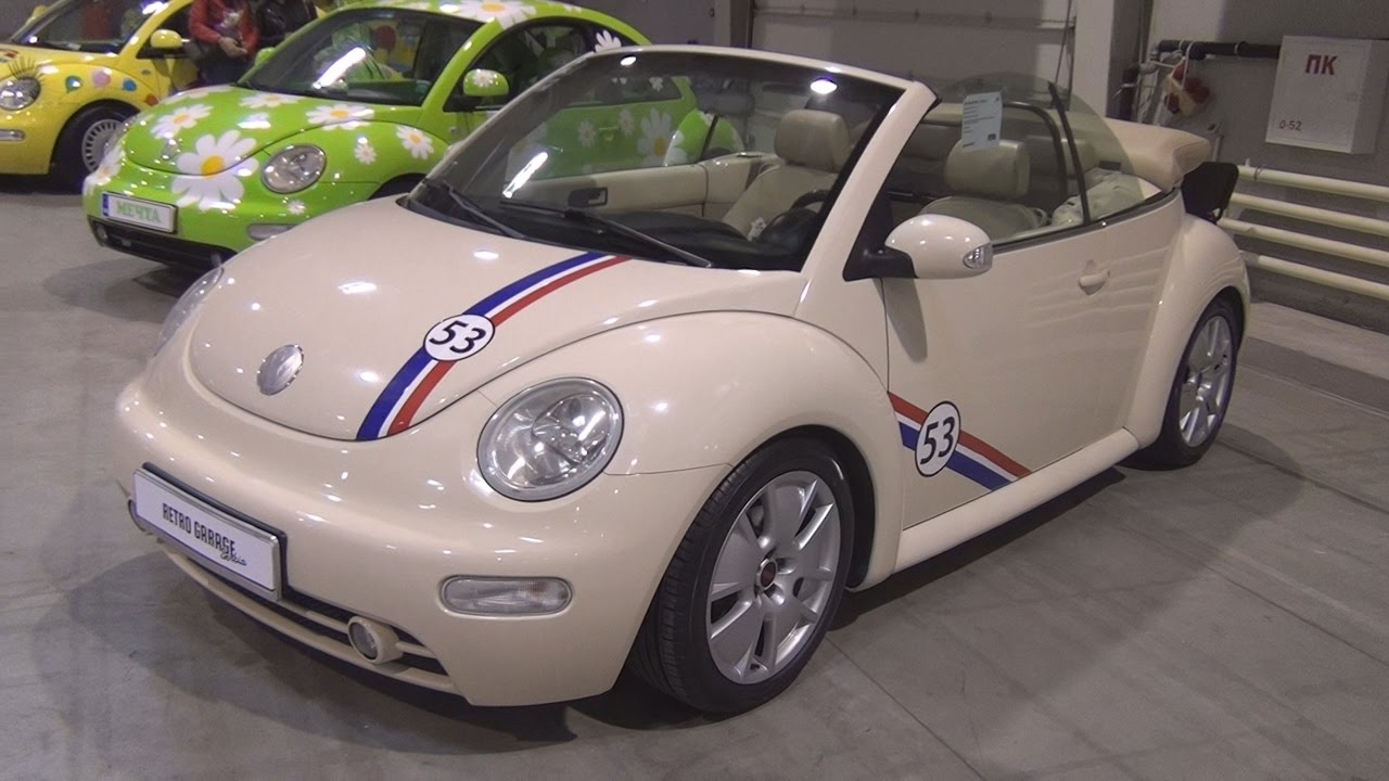 Volkswagen New Beetle Cabrio 2004 Exterior And Interior In