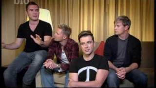 In my Life:  Louis Walsh -  Westlife, Ronan keating and more _8dec09_ Part 1 out of 6