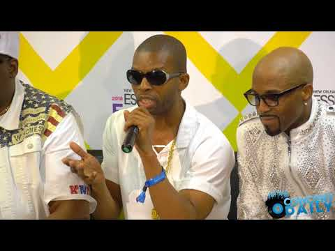 ESSENCE FEST: Teddy Riley and the New Jack Swing Experience Press Conference
