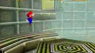 Super Mario 64: Walkthrough (Stomp on a Thwomp)