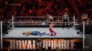 WWE 2K15 - I Quit Match | John Cena vs Batista Gameplay [HD]
