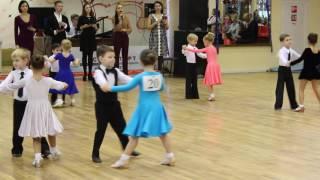 Смотреть видео Аттестация. Турнир по бальным танцам, ДЮСШ Энтузиаст, Москва, 10.12.2016 онлайн