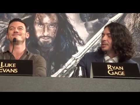 Ryan Gage on exaggerating himself for the role of Alfrid in The Hobbit trilogy