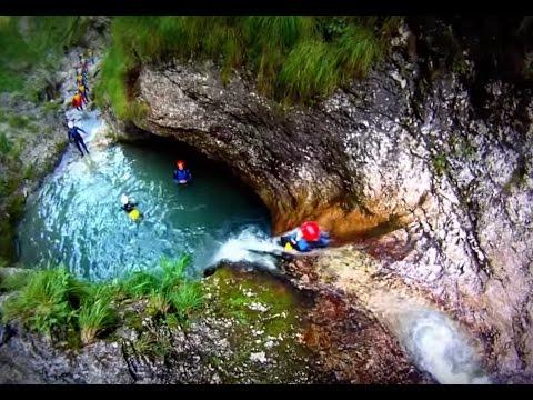 Canyoning Soca Susec Slovenia