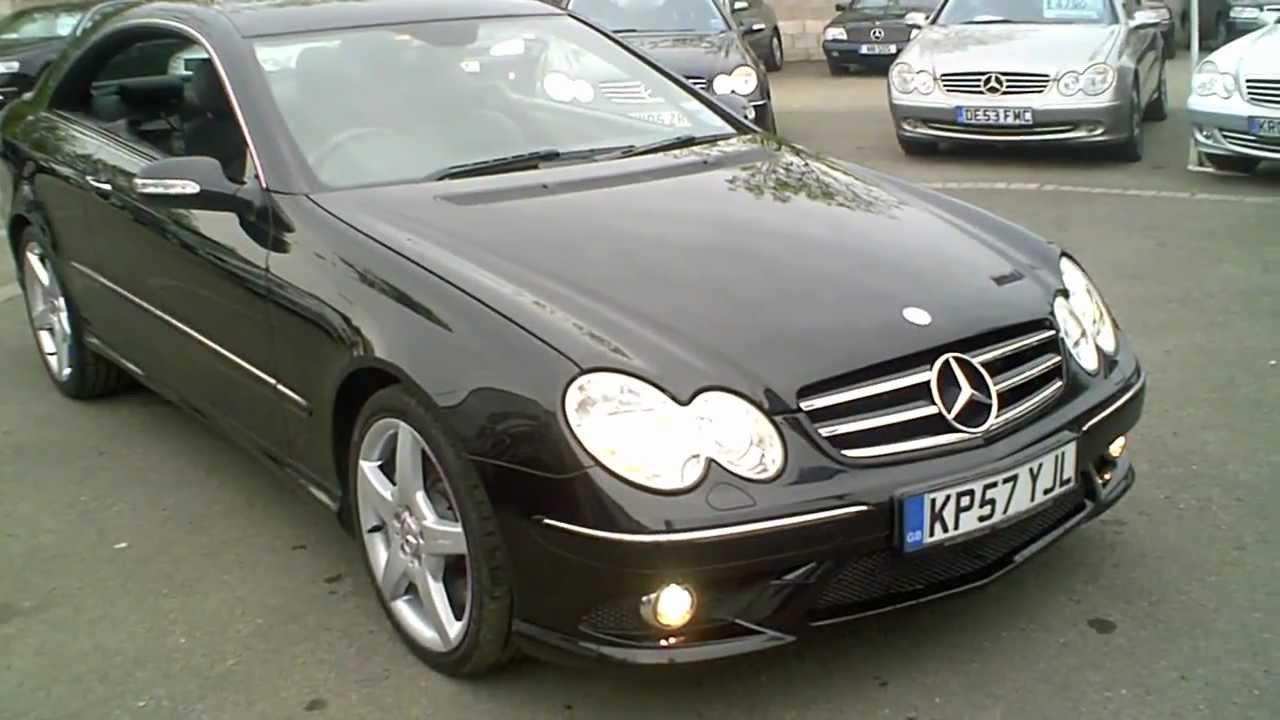 2007 57 mercedes clk320 cdi amg sport coupe 3 0 v6 diesel doovi. Black Bedroom Furniture Sets. Home Design Ideas