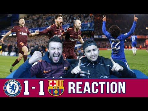 Barcelona fan reacts to: Barca 1-1 draw over Chelsea | Reaction