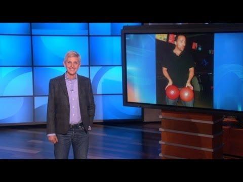 Ellen Gets Into Her Staff's Facebook!