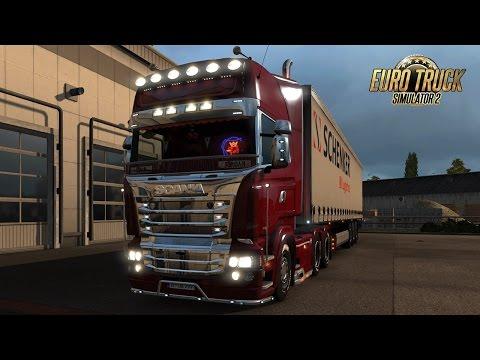 SCANIA (RJL) R & Streamline Modifications V1.4.1 I Euro Truck Simulator 2 I Promods MAP 2.0 !