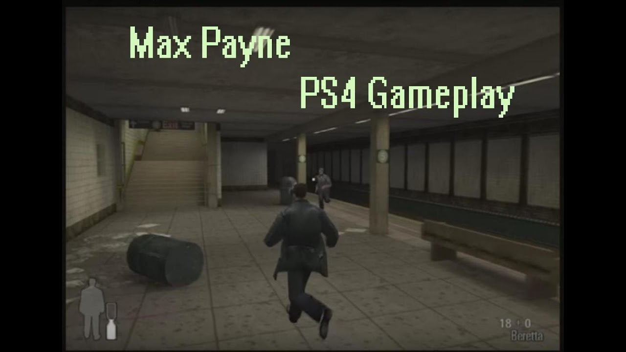 Max Payne Ps4 Gameplay Youtube