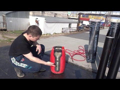 видео: Кровля гаража  Как самому правильно покрыть крышу гаража