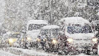 Казахстан накрыли снегопады. Весна откладывается
