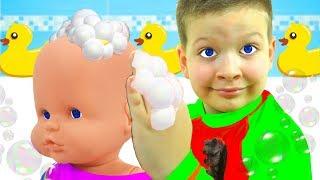 La canción del baño   Canciones infantiles con Max