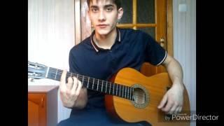 С.Есенин - Заметался пожар голубой ( стихи ) на гитаре , видео урок , разбор