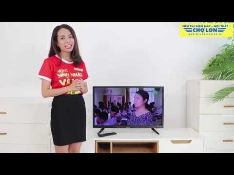 Tivi Led SANCO – H32T100 | Thiết kế đẹp mắt, tích hợp DVB-T2, thương hiệu Việt Nam