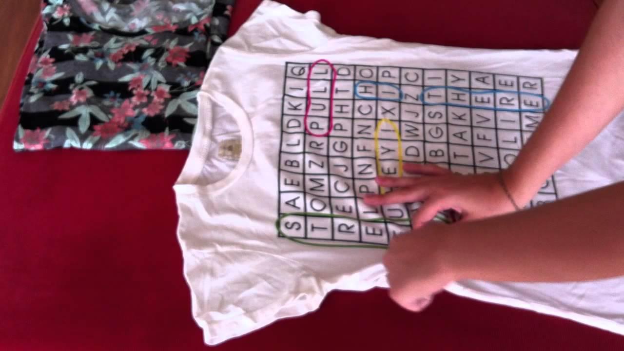 Consejos de hogar truco para doblar camisetas c mo - Tabla doblar camisetas ...