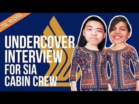 UNDERCOVER INTERVIEW FOR SIA CABIN CREW | TSL VLOGS | EP 53