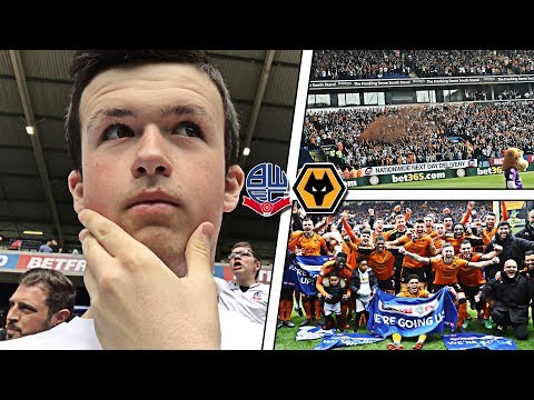 THE MOMENT WOLVES *WON* THE CHAMPIONSHIP TITLE!