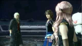 Final Fantasy XIII-2 - Snow and Valfodr Lv. 1 DLC Battle