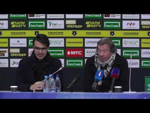 Юрий Павлович Сёмин пресс-конференция Ростов - Локомотив 15.03.2020