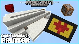 Mcpe Only Command: How to make a Redstone Printer (Uses Command Block)