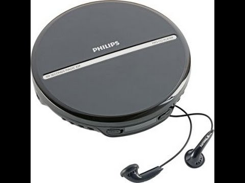 Philips Portable CD Player Unboxing