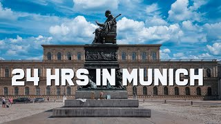 24 Hours in Munich Germany | Top Things to do in Munich | Travel Vlog