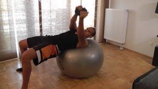 Seitliche Bauchmuskeln Trainieren - Russischer Twist