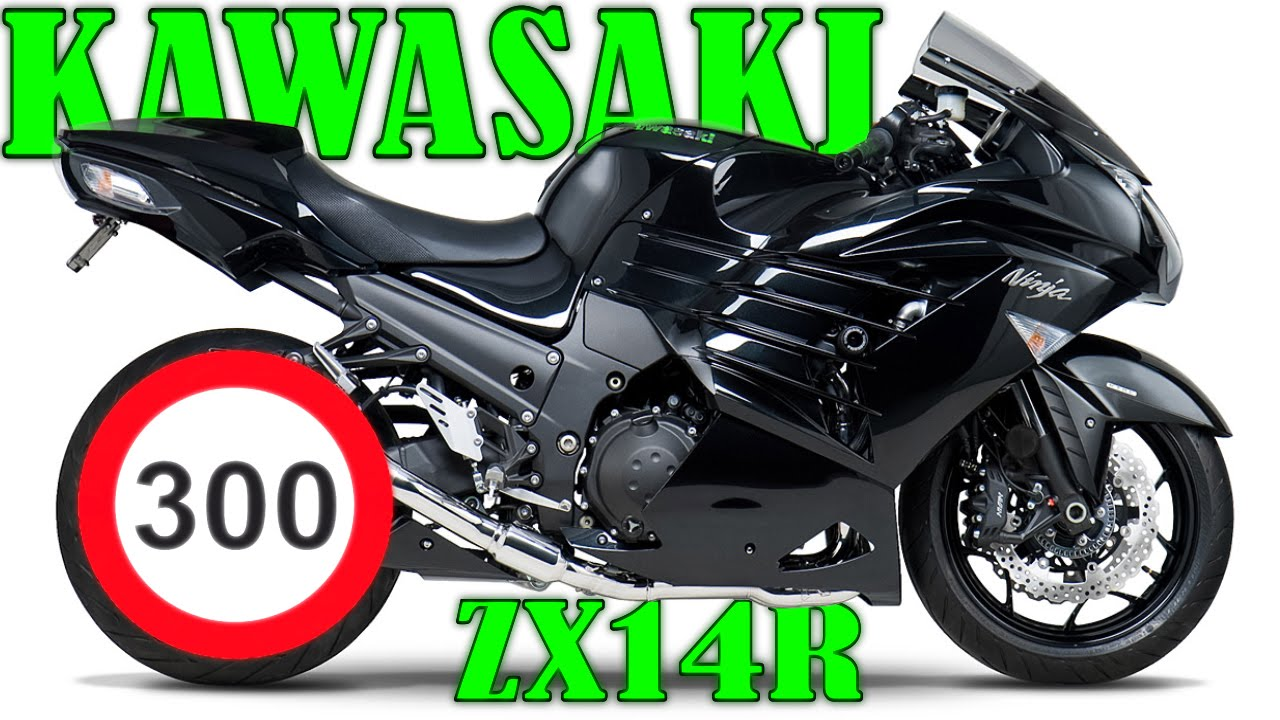 KAWASAKI Ninja ZX14R ZZR1400 TOP SPEED 300 km/h - YouTube