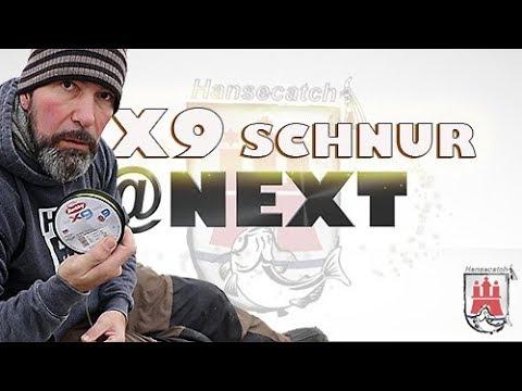 DIE X9-SCHNUR präsentiert bei @Next