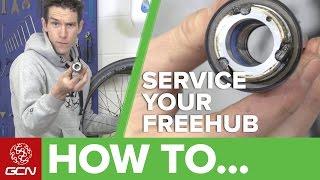How To Service Y๐ur Road Bike Freehub