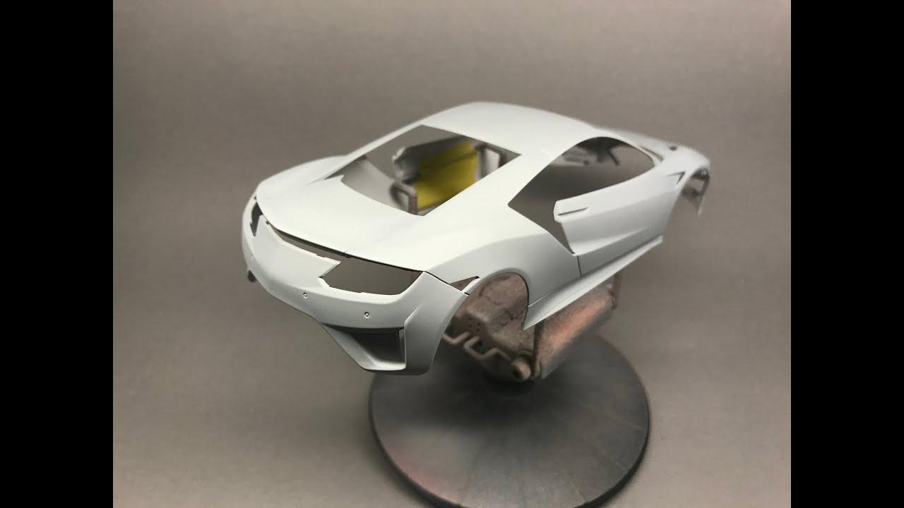 Tamiya: Honda/Acura NSX Part 1