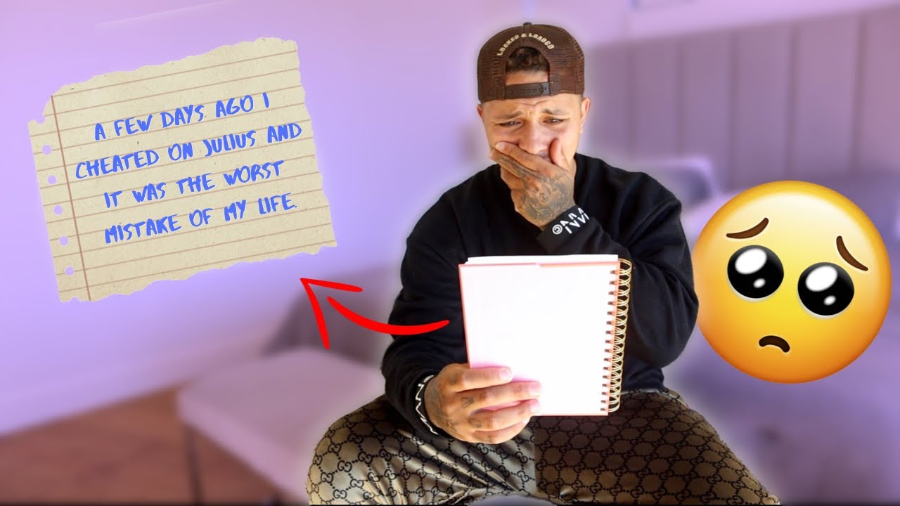 Leaving Out My SECRET DIARY For My BF To Find... ** I CHEATED! **