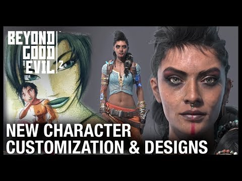 Beyond Good And Evil 2: Character Customization, Jade's History & Pirate Concepts | Ubisoft [NA]