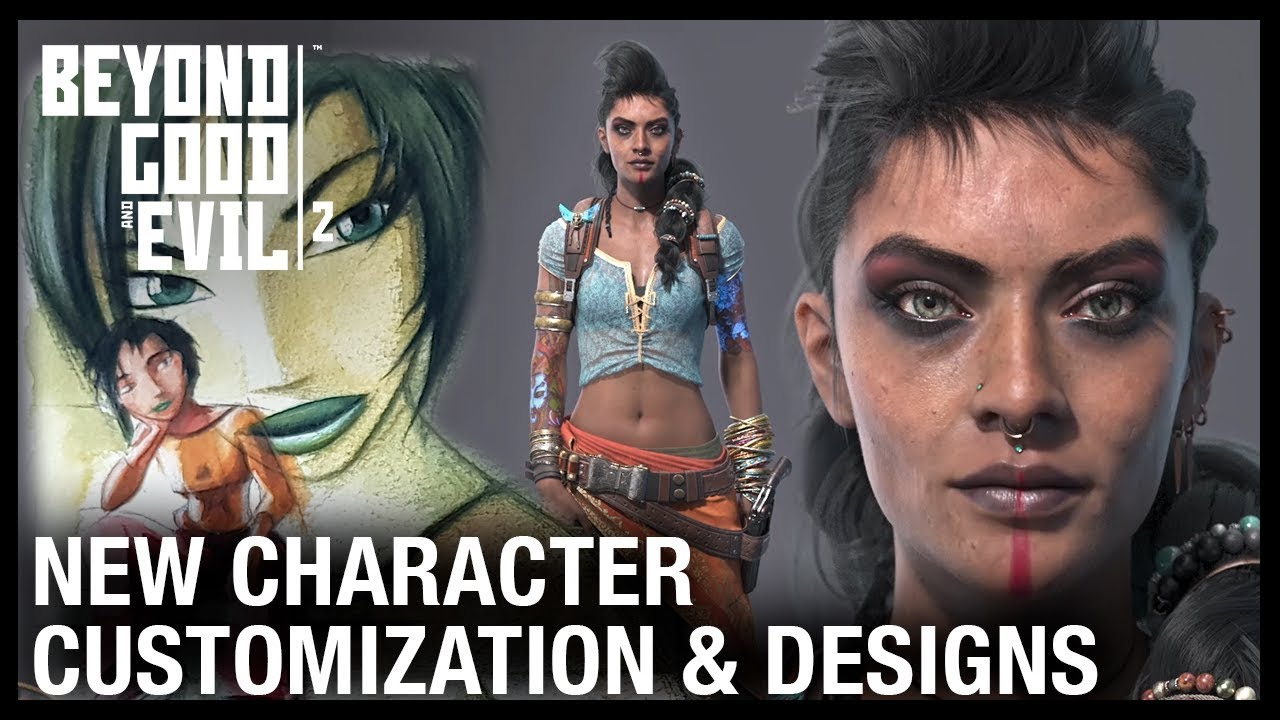Best Character Creation Games 2020.Beyond Good And Evil 2 Character Customization Jade S History Pirate Concepts Ubisoft Na