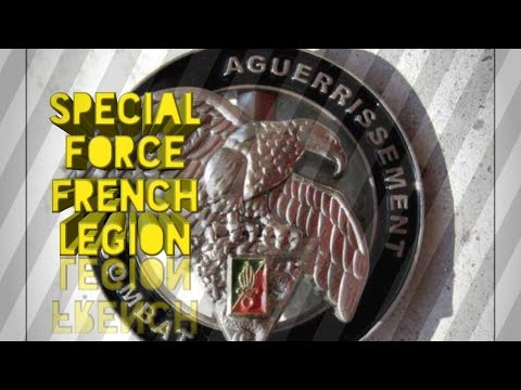 ARE THERE ANY SPECIAL FORCES IN FRENCH FOREIGN LEGION???