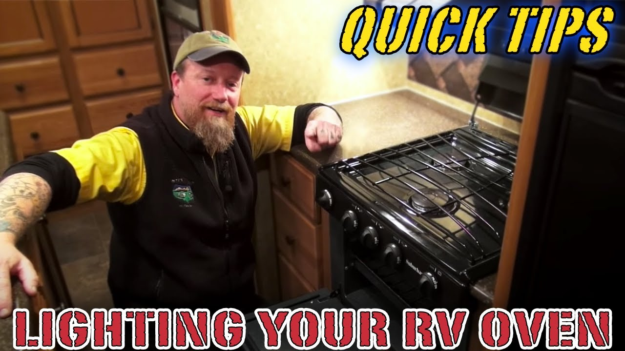 How to Light an RV Oven | Pete's RV Quick Tips