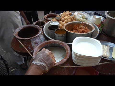 Famous Dahi Bhalla Papdi Chaat Of Delhi Tasty Chat Masala   Indian Street Food