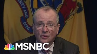 NJ Governor Pushes For Federal Assistance As State Sees Spike In Virus Cases | Katy Tur | MSNBC