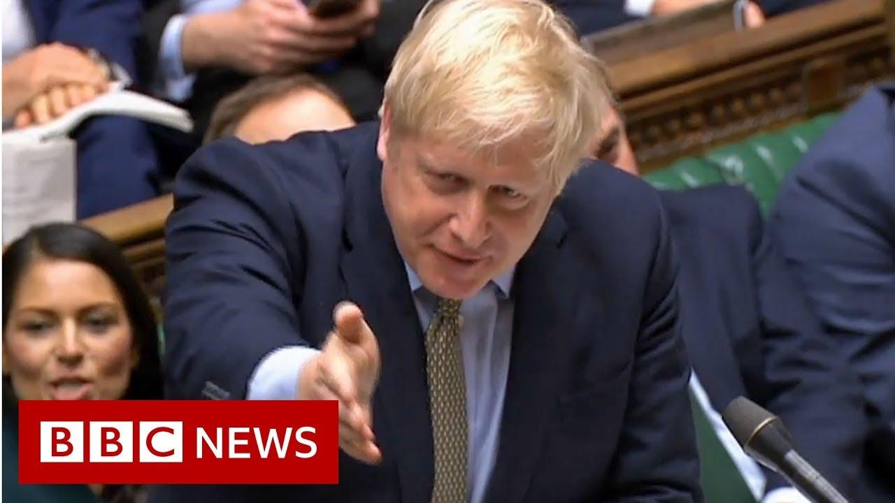 Iran attack: PM Boris Johnson condemns missile strike - BBC News