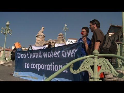 Ouverture du forum alternatif de l'eau à Marseille
