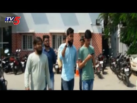 Bouncers Attack On St Mary's Engineering College Students | Hyderabad | TV5 News