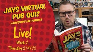 Virtual Pub Quiz Live - Week 2