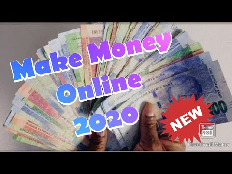 Make Money Online 2020 | Completely Free | South Africa